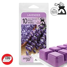 AROME PUR - LAVENDER WAX MELTS - 10 PACK