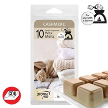 AROME PUR - CASHMERE WAX MELTS - 10 PACK