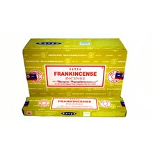 SATYA - FRANKINCENSE INCENSE STICKS - 15GX12 PACK