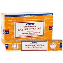 SATYA - EASTERN TANTRA INCENSE STICKS - 15GX12PACK