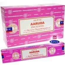 SATYA - AARUDA INCENSE STICKS - 15G X 12 PACK