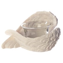 ANGEL'S WINGS VOTIVE CANDLE HOLDER