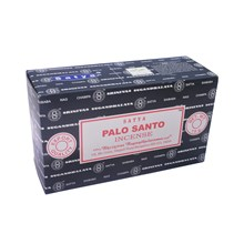 SATYA - PALO SANTO INCENSE STICKS - 15G X 12