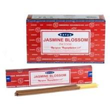 SATYA - JASMINE BLOSSOM INCENSE STICKS - 15X12G