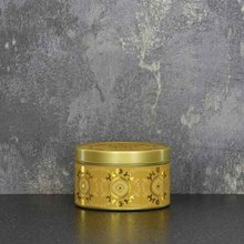 CANDLELIGHT CANDLE TINS - AMBER LILY -130G