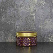 CANDLELIGHT CANDLE TINS - ANGEL FLOWER - 130G