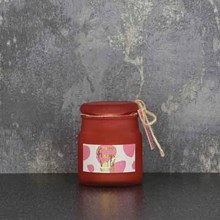CANDLELIGHT FROSTED GLASS CANDLE - HAPPY FIG - 60G