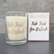 CANDLE IN BOX - GIN O CLOCK ROSE GOLD