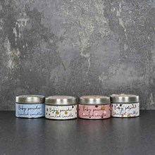 CANDLELIGHT - CELEBRATION CANDLE TINS - 4ASST