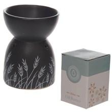 EDEN - OIL BURNER - BLACK & WHITE GRASS DESIGN