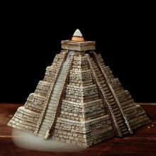 BACKFLOW INCENSE BURNER - AZTEC PYRAMID