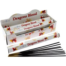 STAMFORD - DRAGONS BLOOD INCENSE STICKS - 6 X 20