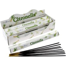STAMFORD - CITRONELLA INCENSE STICKS - 6 X 20