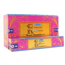 SATYA - NATURAL ROSE INCENSE STICKS -15G X 12 PACK