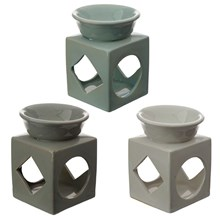 EDEN CUBE CERAMIC OIL AND TART BURNER