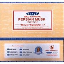 SATYA - PERSIAN MUSK INCENSE STICKS -15G X 12PACK