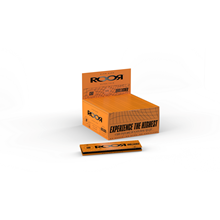 ROOR KING SIZE SLIM UNBLEACHED PAPERS - 50PACK