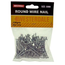 ROUND WIRE NAIL 100MM - 150GRM