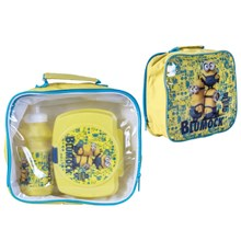 MINIONS 3 PC LUNCH SET