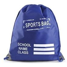 SCHOOL SPORTS BAG - ROYAL BLUE