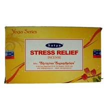 SATYA - STRESS RELIEF INCENSE STICKS- 15GX12