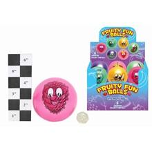 SMALL FRUITY FUN BALL DISPLAY BOX