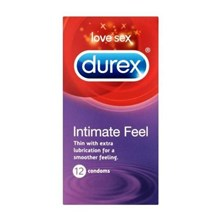 DUREX - CONDOMS INTIMATE FEEL - 12 X 4 PACK