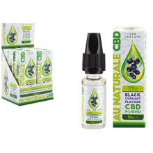 AU NATURALE CBD -E-LIQUID BLACKCURRANT 100MG- 10ML