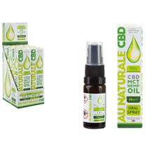 AU NATURALE CBD - CBD MCT HEMP OIL ORAL SPRAY-10ML