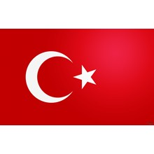 TURKEY FLAG 5X3