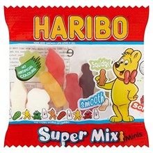 HARIBO - SUPER MIX MINI BAGS -16G - 100PCS