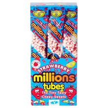 MILLIONS TUBES - STRAWBERRY - 12 PACK