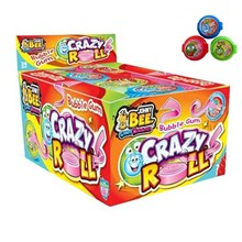 JOHNY BEE - CRAZY ROLL GUM - 24 PACK