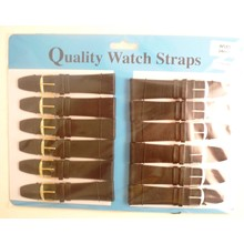 WATCH STRAPS BLACK 24MM