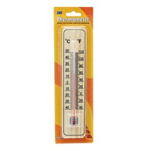SWL - WOODEN THERMOMETER