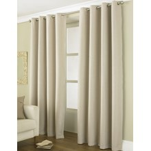 "LINEA BLACKOUT CURTAIN - 66 X72"" NATURAL"
