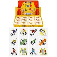 576PCS FOOTBALL TATOOS IN A BOX