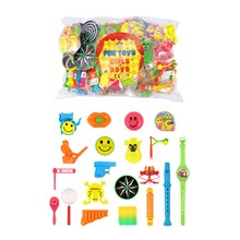 ASSORTED PARTY TOY BAG - 100 PACK