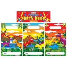 PARTY BAGS DINOSAUR