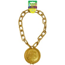 GOLD DOLLAR NECKLACE