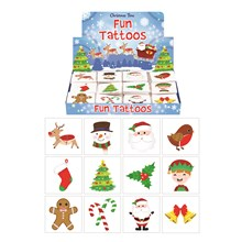 CHRISTMAS TATTOOS - 48 PACK