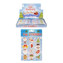 CHRISTMAS STICKERS - 120 PACK