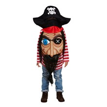 CHILD PIRATE JUMBO FACE MEDIUM