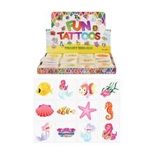 576PCS MERMAIDS TATOOS IN A BOX