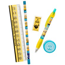 DESPICABLE ME 5PC STATIONERY SET