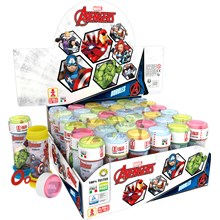 AVENGERS BUBBLES TUBS - 36 PACK