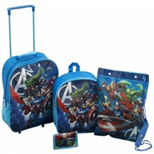 AVENGERS 4 PIECE TROLLY SET