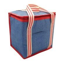 LARGE DENIM  COOLER BAG 12L