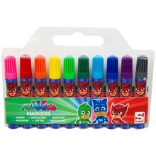 PJ MASK 10 PACK CHUNKY MARKERS