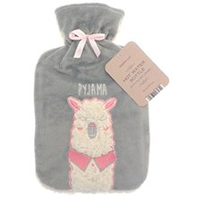 COUNTRY CLUB HOT WATER BOTTLE - LLAMA 2L